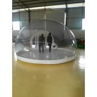 Durable 0.6mm And 0.8mm PVC Tarpaulin Inflatable Party Tent For Wedding , Transparent Manufactures