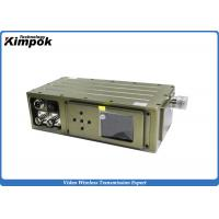 Military COFDM HD Video Transmitter 5W Surveillance Wireless RF Transmitter Encryped Manufactures