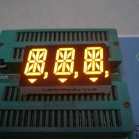 Super Amber 3 Digit 14 Segment LED Display 0.56 inch For Digital Indicator Manufactures