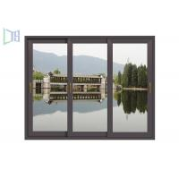 Single / Double Glazed Thermal Break Aluminum Windows Easy Install For Building Manufactures