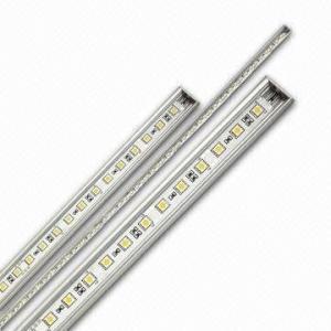 12v 5m Epistar Rigid Led Strip Light 3000k - 9000k 50 / 60HZ for Jewelry showcase Manufactures