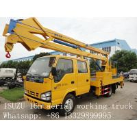 hot sale best price CLW brand 12m-24m high altitude operation truck, factory direct sale CLW brand aerial working truck Manufactures
