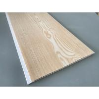 Quality Yellow Color Waterproof Wood Paneling For Bathrooms Shining Glossy Printing for sale