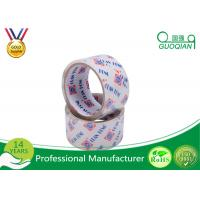 Pure Wide Clear Packaging Tape Environment Protection High Adhesive 48mm X 30m Manufactures