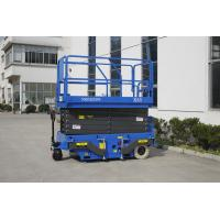 Quality 12M Mobile Scissor Lift With Pulling Device for sale