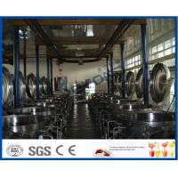 Factory Juice Making Machine Apple Processing Line For Apple / Pear Juice ISO9001 Manufactures