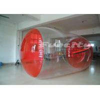 PVC Inflatable Walk On Water Ball Roller With 0.8mm - 1.0mm Thickness Manufactures