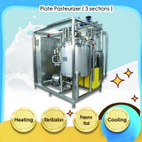 Widely used in fresh milk and milk beverage or tea plate heat exchanger pasteurizer machine for juice Manufactures