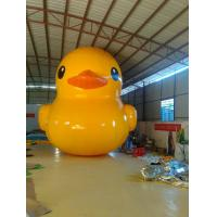 Fireproof Yellow Duck Inflatable Model Unique For Commerical Promotion Manufactures