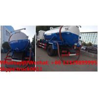 Quality Cheapest price dongfeng 4*2 LHD 10cbm vacuum tank truck for sale, Factory sale for sale