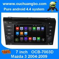 Ouchuangbo Car Radio Multimedia Kit Stereo DVD Player Android 4.4 for Mazda 3 2004-2009 OCB-7003D Manufactures