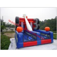 inflatable giant basketball inflatable basketball court Double Shot Basketball Hoops Manufactures