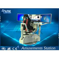 3 Screen Racing Game Machine 6 Maps 2D / 3D View Fashion Appearance Manufactures