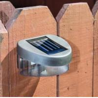 Quality Multi Function Solar Powered Wall Lamp , Warm White Color Solar Sensor Wall Light for sale