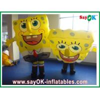 China SpongeBob Inflatable Character , Customized Moving Inflatable Mascot on sale