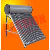 China Wall Mounted Solar Water Heater , Tube Solar Hot Water System For Room Heating on sale
