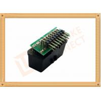 90 Angle PCB Soldered OBD Diagnostic Connector 16 Pin Obd2 Female Connector SOF007 Manufactures