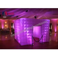 Rentable Lighted Inflatable Photo Booth Enclosure Event Custom Made Inflatables Manufactures