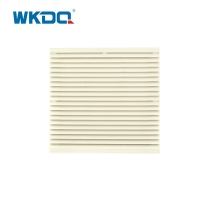3326-300 Electrical Cabinet Air Filter , Air Clean Control Panel Ventilation Fan 290mm Surface Waterproof ABS Material Manufactures