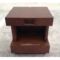 Wooden 5-star hotel furniture stone top night stand/bed side table NT-0022 Manufactures