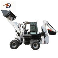 4 wheel drive tractor with front end loader and backhoe articulated backhoe loader Manufactures