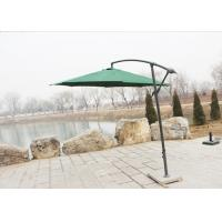 300cm Cantilever Hanging Patio Umbrella / Offset Patio Umbrella With Base Manufactures
