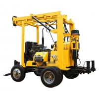 YZJ-300YY Trailer Mounted Water Well Drilling Rig Manufactures