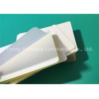 Sticky Back Laminating Film A7 , 80 Micron Laminating Pouches ID Card Size Manufactures