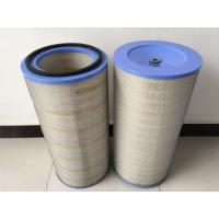 pleated Air dust filter element for graphite dust collector Manufactures