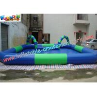 China OEM or ODM Outdoor Kids Inflatable Swimming Water Pools 10 x 8 meter, with Custom Printed on sale