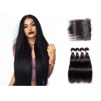 Queenlife Long Remy Straight Human Hair Weave 3 Bundles With Frontal Natural Looking Manufactures