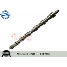 Excavator Diesel Engine Parts Forged Camshaft EH700 , One Year Warranty Manufactures