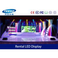 Energy Saving LED Video Wall Panel MBI5024 IP43 , Large LED Display Hire 150° / 150° Manufactures