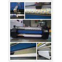 Auto Feed And Roll Up Directly Polyester Fabric Plotter Fabric Printing Machine Manufactures