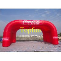 Advertising Inflatable Tent / Marquee With Logo For Outdoor Advertising / Promotion Manufactures