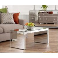 Simple Design Antique Mirror Coffee Table , Modern Mirrored Couch Table Manufactures