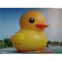Quality Giant Yellow Duck Inflatable Advertising Products For Advertising for sale