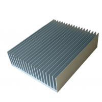 Extruded Aluminum Heatsinks ,6061 / 6005 Aluminum Extrusion Heatsink For Solar PV Products Manufactures