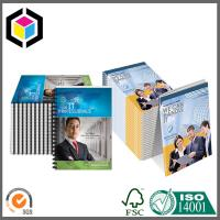 Quality Spiral Binding Color Printing Catalogue; Custom CMYK Full Color Paper Catalog for sale