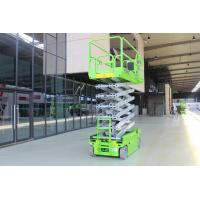 Open Hydraulic System 3.5km/H 11.8m Scissor Sky Lift Platform Manufactures