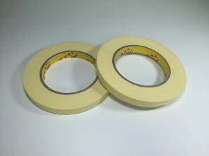 China Beige Color Economy Grade High Temp Masking Tape For General Purpose Connection Objects on sale