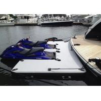 Buy cheap Drop Stitch Float Platform Inflatable Yacht Slides Watercraft Dock Customized from wholesalers