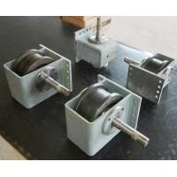 45# Hollow Shaft Crane End Carriage / Shot Blasting Wheel Block For End Carriage Manufactures