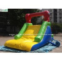 Custom Made Indoor Mini Commercial Inflatable Slides / Caterpillar Inflatable for Pool Manufactures