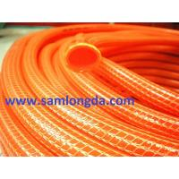 PVC Knitted Garden Hose (KH152225), red colour, knitted structure, supper flexible in winter Manufactures