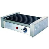 Hotel Stainless Steel Commercial Hot-Dog Grill Machine 9-Roller For Fast Food Manufactures