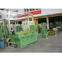 17MD Cone Type Wire Drawing Equipment , Shaft Type Wet Cable Drawing Machine Manufactures