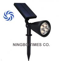 Quick Installation Solar LED Spotlight IP65 Waterproof 4 LED Solar Lights Manufactures