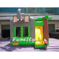 Huge Elephant Kids Inflatable Bouncy Castle Anti - UV PVC Toddler Inflatable Bouncer Manufactures