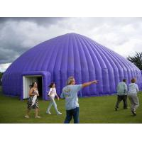 Big Purple 0.45mm PVC Outdoor Inflatable Party Tent For Backyard Manufactures